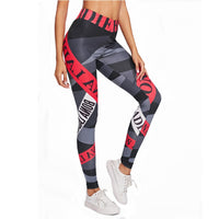 Leggings de sport Pantalons de yoga Leggins Fitness Sportswear Femmes Leggings de gymnastique Collants de course souples et flexibles Leggings d'entraînement