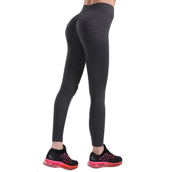 Fitness Leggings Gothiques Taille Basse Femmes Sexy Hanche Push Up Legging 4 Saisons