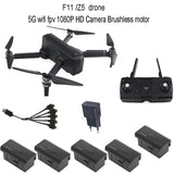 SJRC Z5/F11 GPS 5G Wifi FPV drone Cam 1080 P, 25 minutes Temps Vol moteur Brushless
