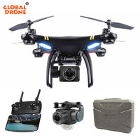Global Drone GPS GW168 Cam HD Suivez-moi Quadrocopter RC FPV VS X21 X8PRO