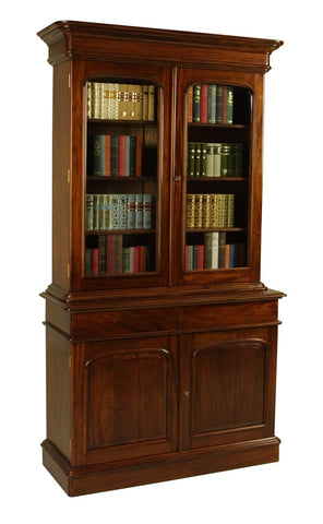 4'0 2 Door Victorian Bookcase