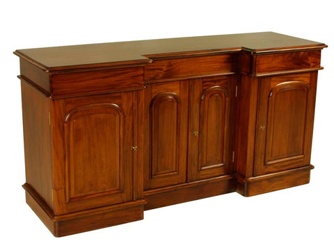 4 Door Recess Sideboard