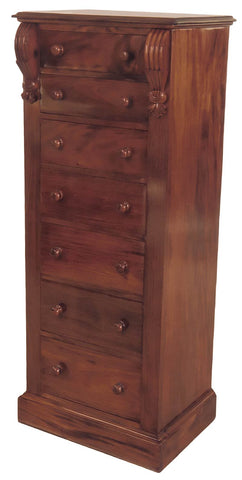 7 Drawer Tall Corbal Chest