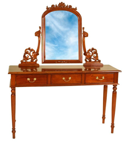 3 Drawer Slim Dressing Table