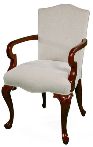 Small French Square back armchair