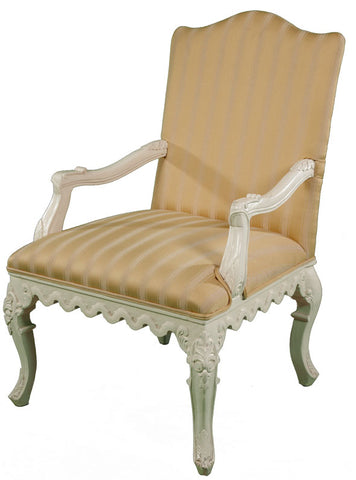 French Open Armchair - Ivory