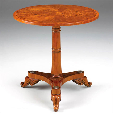 Pedestal Side Table