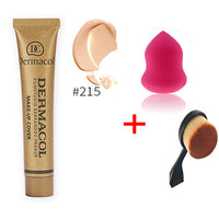 Dermacol brand 100% Original Concealer Liquid Foundation Cream Freckles Acne Scar Waterproof Professional Primer Makeup Cream