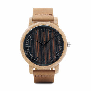 Mens Wooden Watch - Fashion Limited