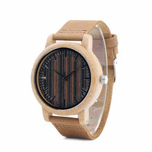 Load image into Gallery viewer, Mens Wooden Watch - Fashion Limited