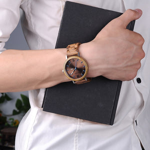 Men & Women Wooden Watch - Luxury Timber Wood