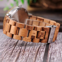 Load image into Gallery viewer, Men & Women Wooden Watch - Luxury Timber Wood