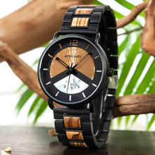 Load image into Gallery viewer, Mens Wooden Watch - Stylish Luxury