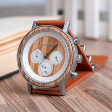 Load image into Gallery viewer, Men & Women Wooden Watch - Chronograph on Teakwood