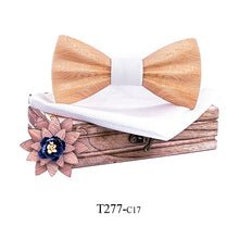 Load image into Gallery viewer, Mens Wooden Bow Tie - Congealed Luxury