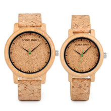 Load image into Gallery viewer, Wooden Watch - Bamboo Lovers Watch