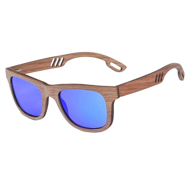 Red Rosewood Polarized Wooden Sunglasses