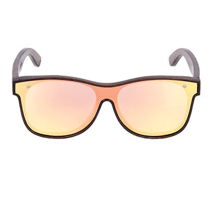 Smoked Bamboo Wooden Sunglasses