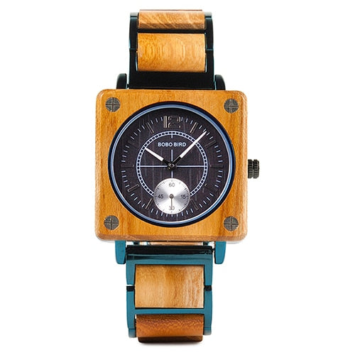 Men & Women Wooden Watch - Stylish Luxury