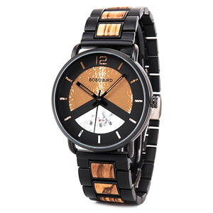 Mens Wooden Watch - Stylish Luxury
