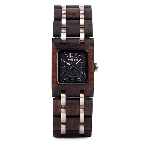 Womens Wooden Watch - Fashion Casual