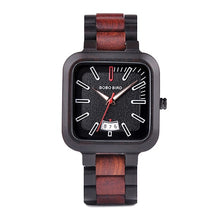 Load image into Gallery viewer, Mens Wooden Watch - Luxury Dated