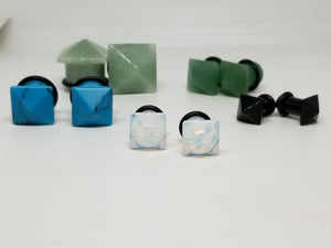Single Flare Square Plugs