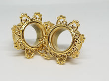 Gold Plated Flower Tunnels
