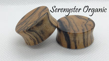 Black & White Ebony Plugs