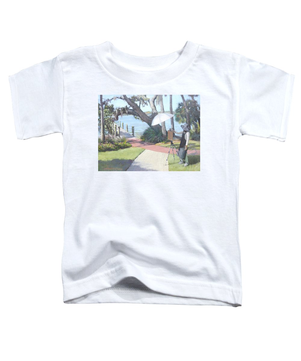 Bay Preserve Plein Air Painter - Toddler T-Shirt
