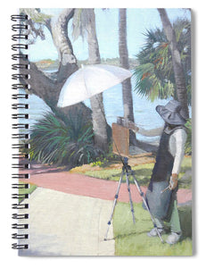 Bay Preserve Plein Air Painter - Spiral Notebook