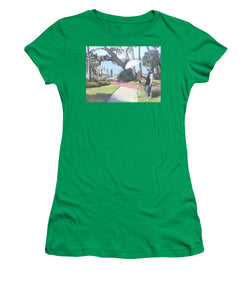 Bay Preserve Plein Air Painter - Women's T-Shirt (Athletic Fit)