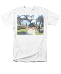 Bay Preserve Plein Air Painter - Men's T-Shirt  (Regular Fit)