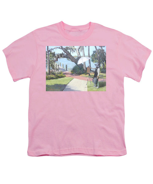 Bay Preserve Plein Air Painter - Youth T-Shirt