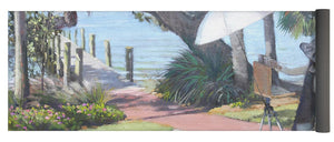 Bay Preserve Plein Air Painter - Yoga Mat
