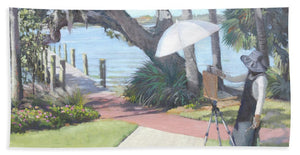 Bay Preserve Plein Air Painter - Bath Towel