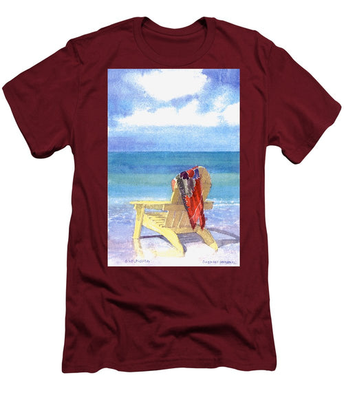 Beach Chair - Men's T-Shirt (Athletic Fit)