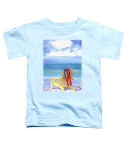 Beach Chair - Toddler T-Shirt