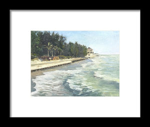 Blind Pass Road, Siesta Key - Framed Print
