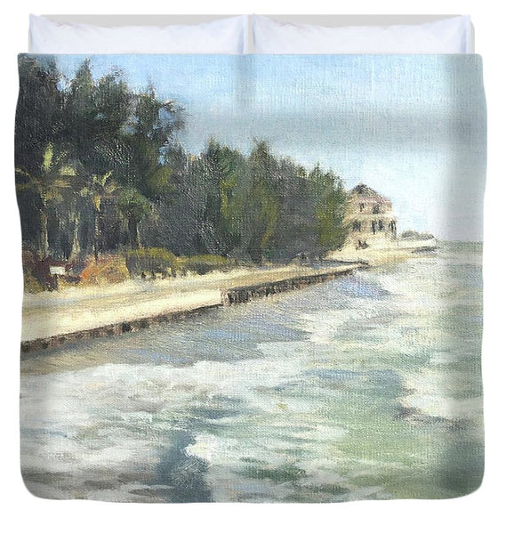 Blind Pass Road, Siesta Key - Duvet Cover