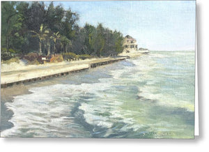 Blind Pass Road, Siesta Key - Greeting Card