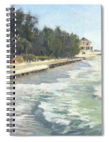 Blind Pass Road, Siesta Key - Spiral Notebook
