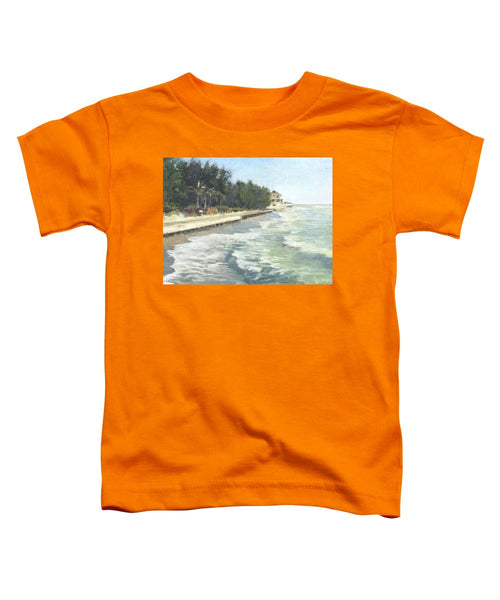 Blind Pass Road, Siesta Key - Toddler T-Shirt