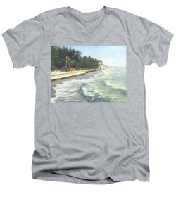 Blind Pass Road, Siesta Key - Men's V-Neck T-Shirt
