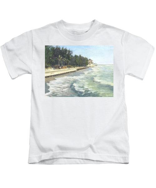 Blind Pass Road, Siesta Key - Kids T-Shirt