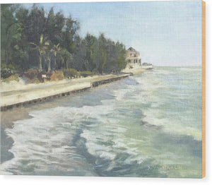 Blind Pass Road, Siesta Key - Wood Print