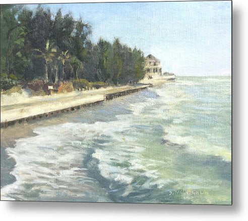 Blind Pass Road, Siesta Key - Metal Print