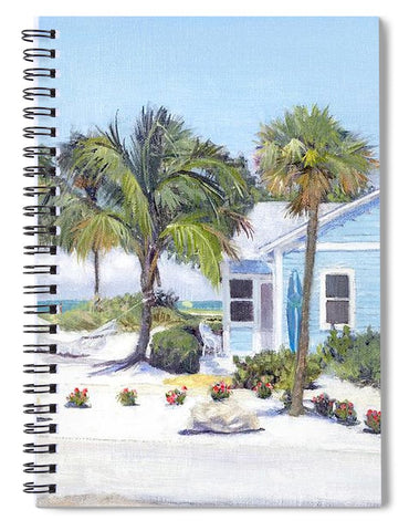 Blue Cottage On Siesta Key Beach, Access 3 - Spiral Notebook