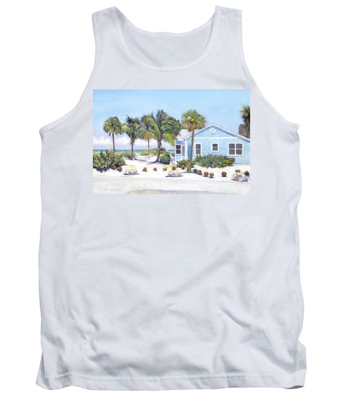 Blue Cottage On Siesta Key Beach, Access 3 - Tank Top