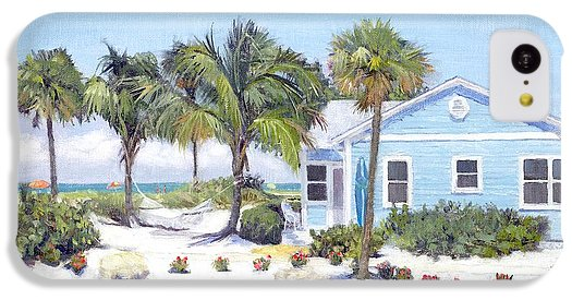Blue Cottage On Siesta Key Beach, Access 3 - Phone Case